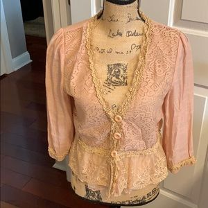 Pretty Angel Lacey jacket.